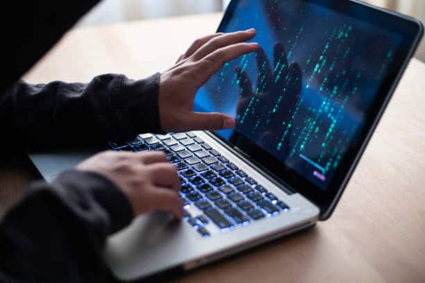 Hacker,Hacker attacking internet